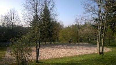 Das Beachvolleyballfeld auf dem Braunjörgen muss saniert werden.