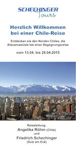 Chilereise 2015