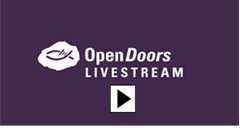 Open Doors Livestream starten